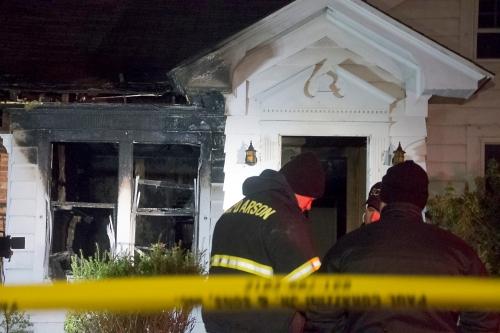 Fatal fire in Greenport